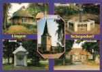 17  Lingen-Schepsdorf, Heimathaus, Dorfbrunnen, Kirche, Kluse, Gut Herzford